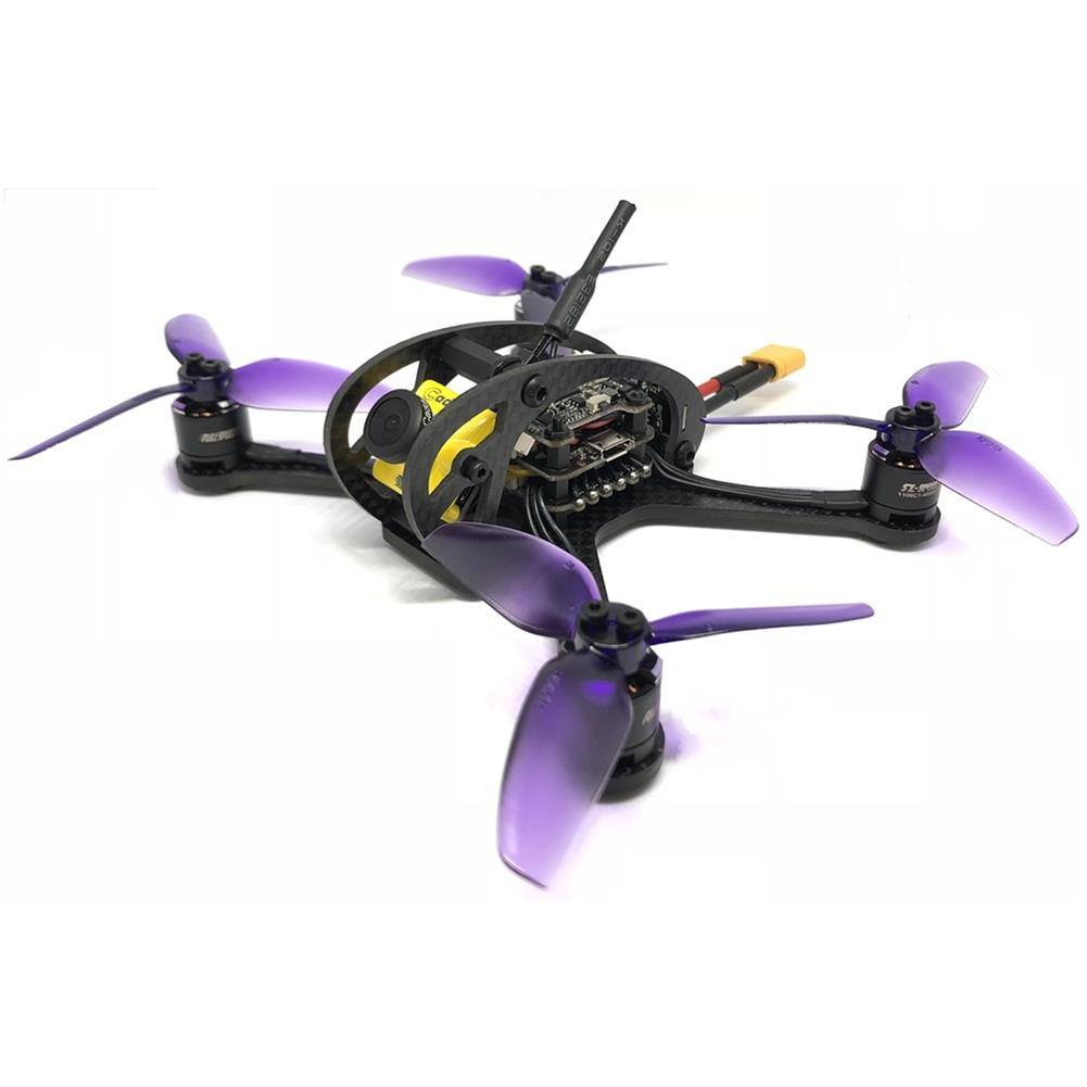 fpv-racing-drones FullSpeed FSD Leader 3 130mm FPV Racing RC Drone F4 OSD 28A BLHeli_S Dshot600 48CH 600mW Caddx Micro F2 PNP RC1325019