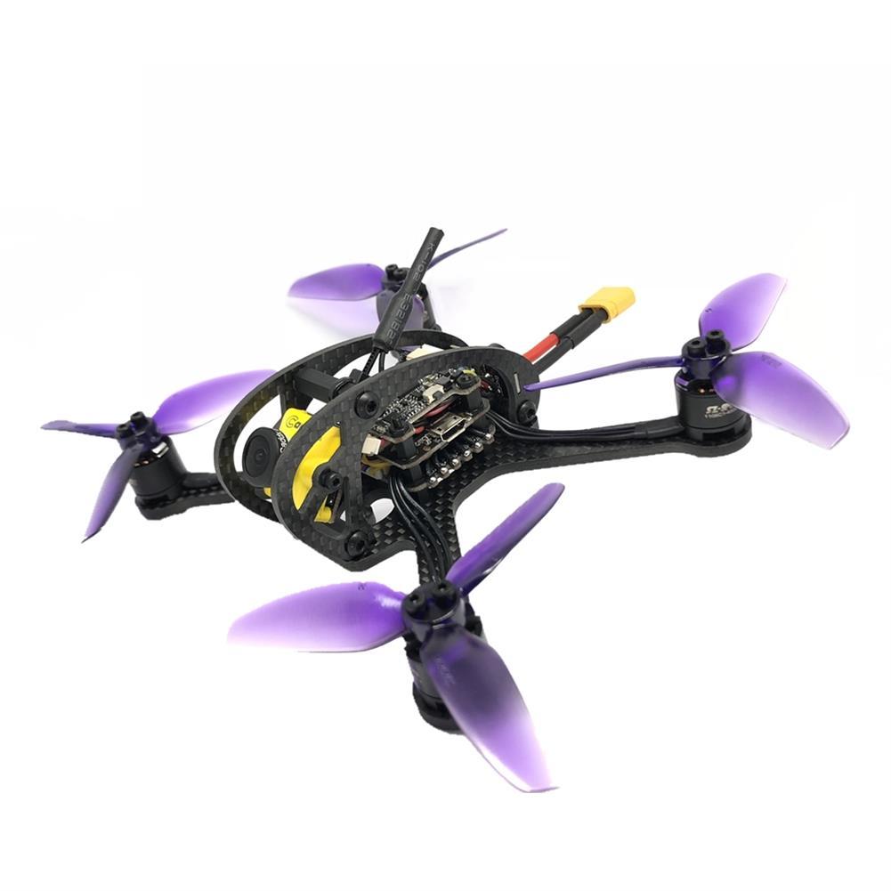 fpv-racing-drones FullSpeed FSD Leader 3 130mm FPV Racing RC Drone F4 OSD 28A BLHeli_S Dshot600 48CH 600mW Caddx Micro F2 PNP RC1325019 1