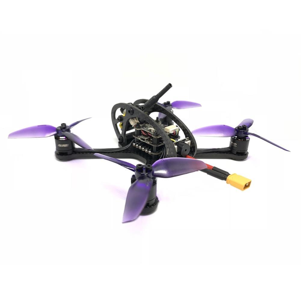 fpv-racing-drones FullSpeed FSD Leader 3 130mm FPV Racing RC Drone F4 OSD 28A BLHeli_S Dshot600 48CH 600mW Caddx Micro F2 PNP RC1325019 3