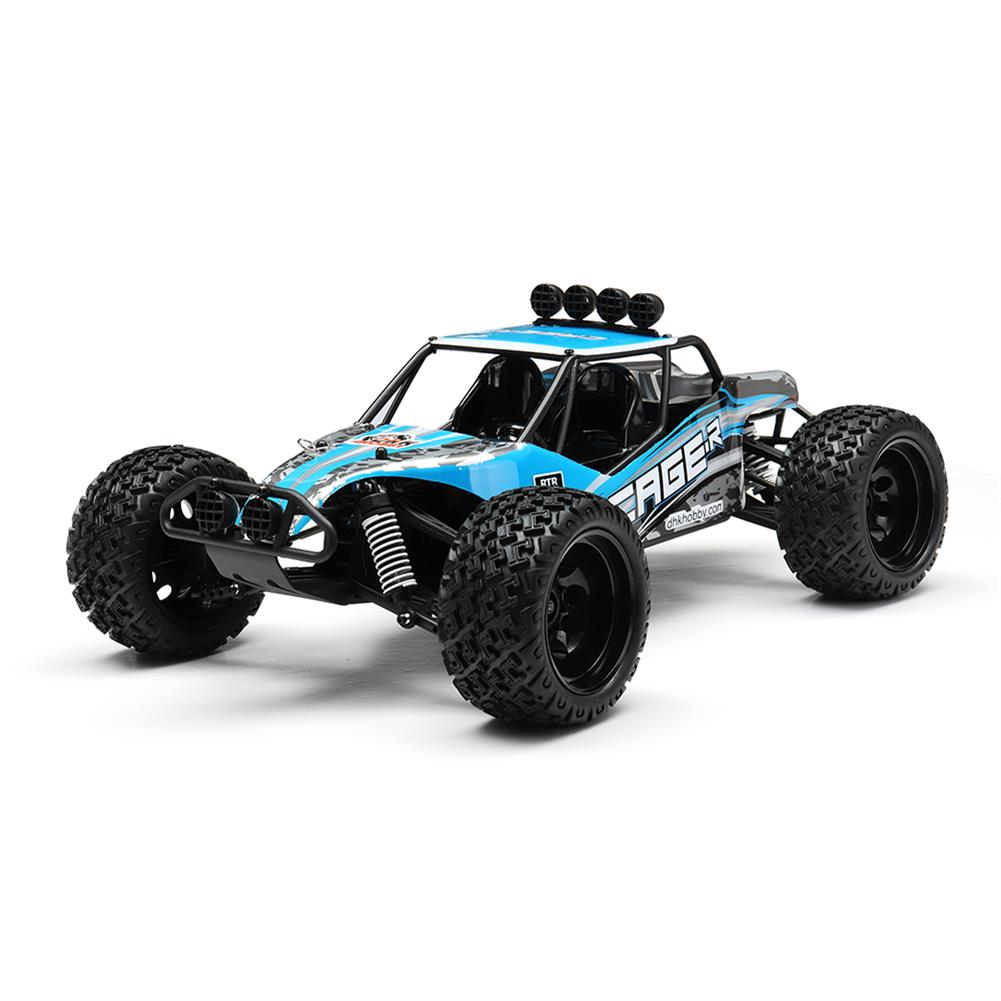 rc-cars DHK Hobby 8142 1/10 2.4G 2WD 446mm 35km/h Brushed Rc Car 30-degree Slope Climbing Rock Crawler RTR RC1325230
