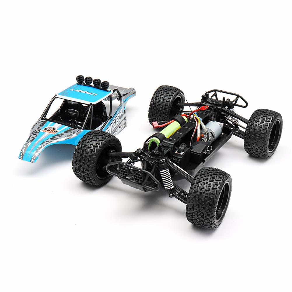rc-cars DHK Hobby 8142 1/10 2.4G 2WD 446mm 35km/h Brushed Rc Car 30-degree Slope Climbing Rock Crawler RTR RC1325230 2