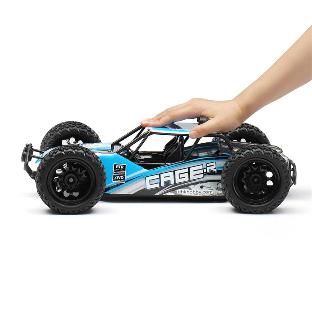rc-cars DHK Hobby 8142 1/10 2.4G 2WD 446mm 35km/h Brushed Rc Car 30-degree Slope Climbing Rock Crawler RTR RC1325230 3