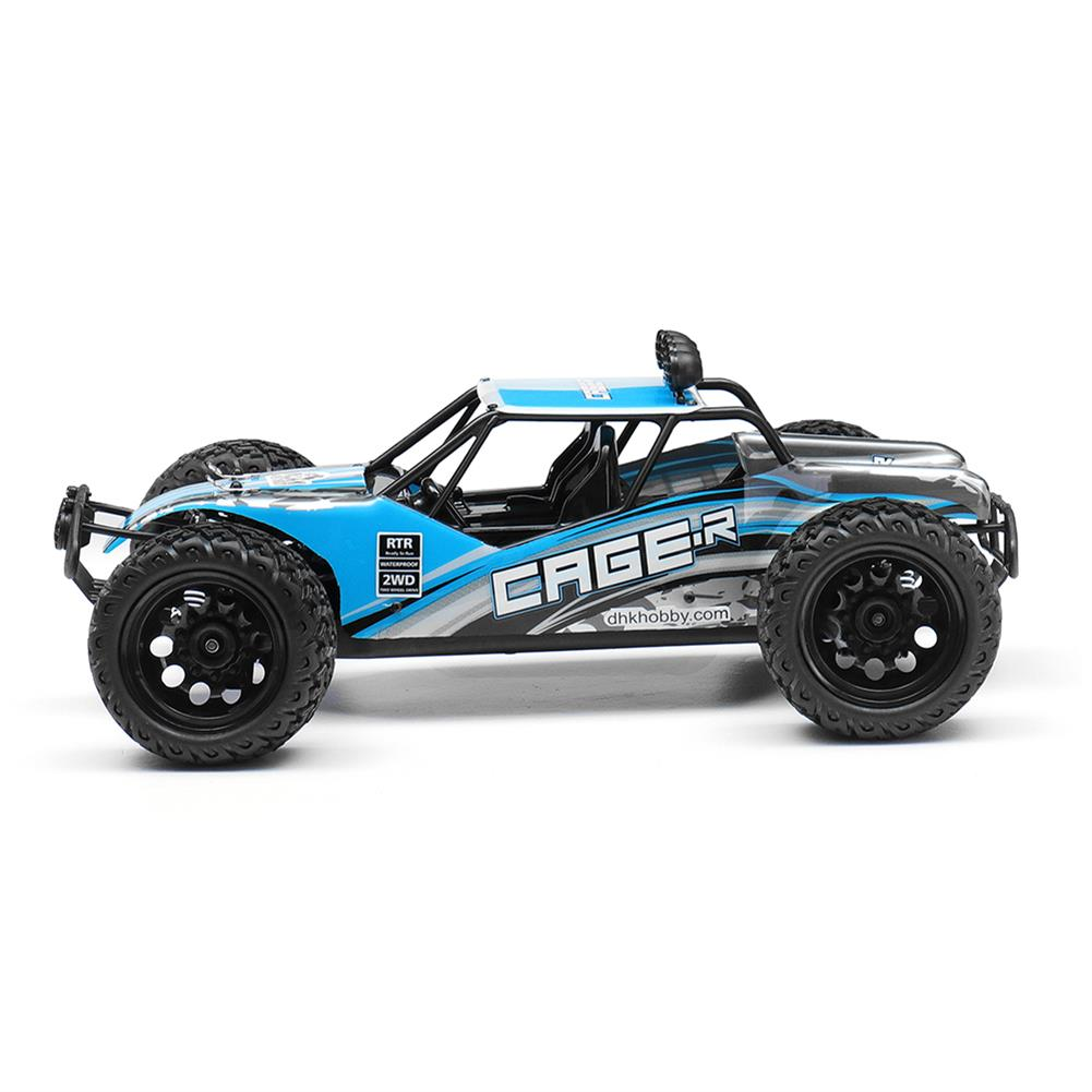 rc-cars DHK Hobby 8142 1/10 2.4G 2WD 446mm 35km/h Brushed Rc Car 30-degree Slope Climbing Rock Crawler RTR RC1325230 4