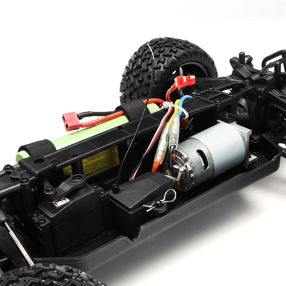 rc-cars DHK Hobby 8142 1/10 2.4G 2WD 446mm 35km/h Brushed Rc Car 30-degree Slope Climbing Rock Crawler RTR RC1325230 6