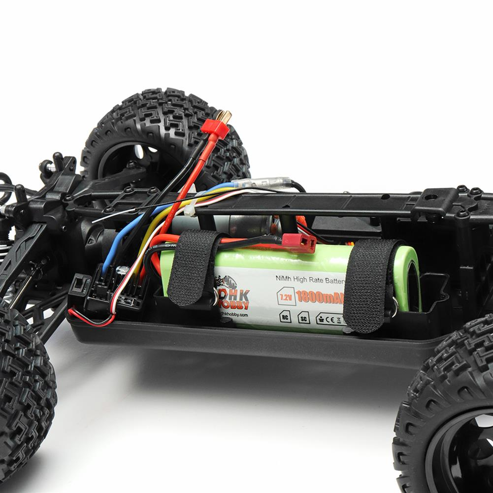 rc-cars DHK Hobby 8142 1/10 2.4G 2WD 446mm 35km/h Brushed Rc Car 30-degree Slope Climbing Rock Crawler RTR RC1325230 7