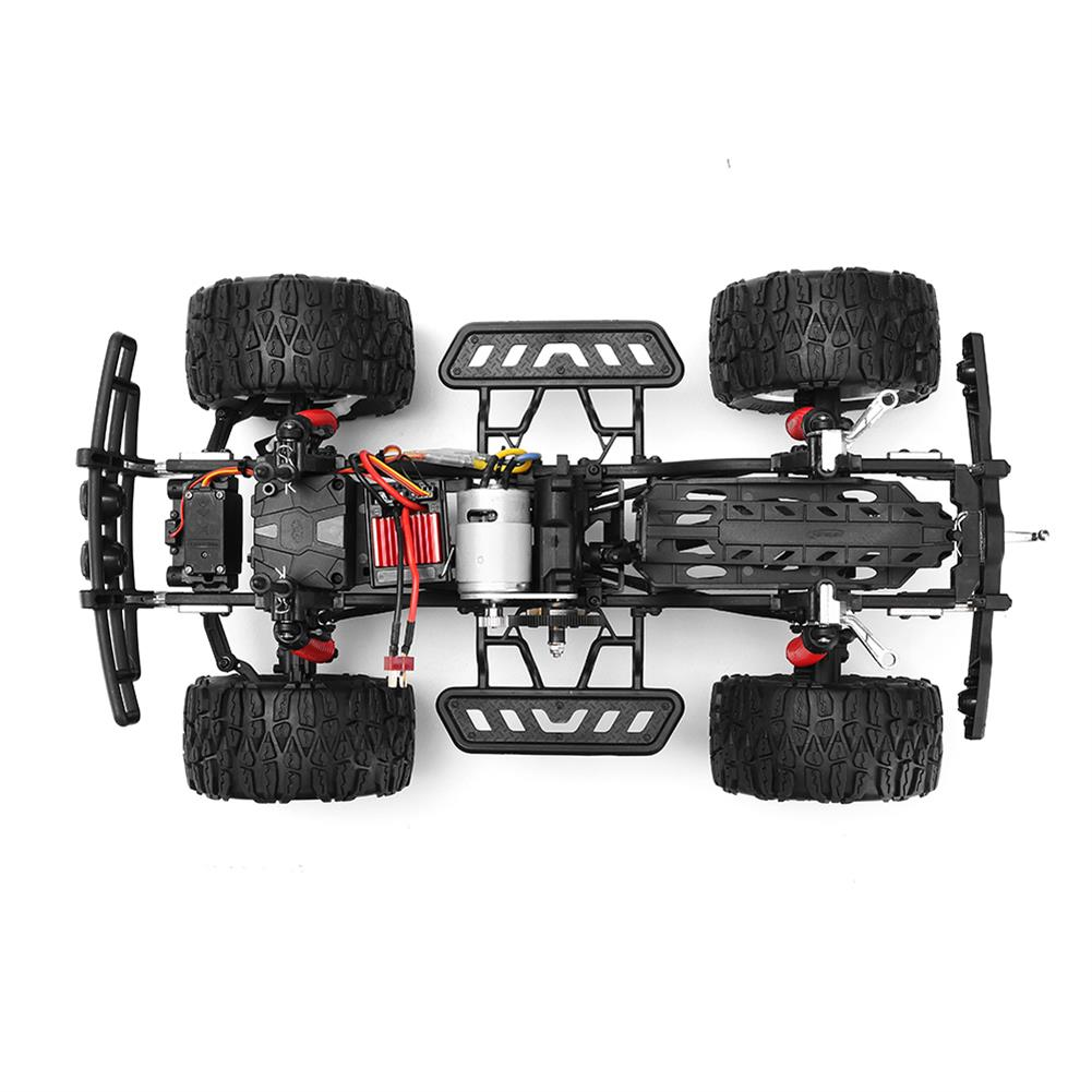 rc-cars HG P404 1/10 2.4G 4WD 46cm Apace Gallop 540 Brushed Rc Car 20km/h 4x4 Rock Crawler RTR Toy RC1325855 2