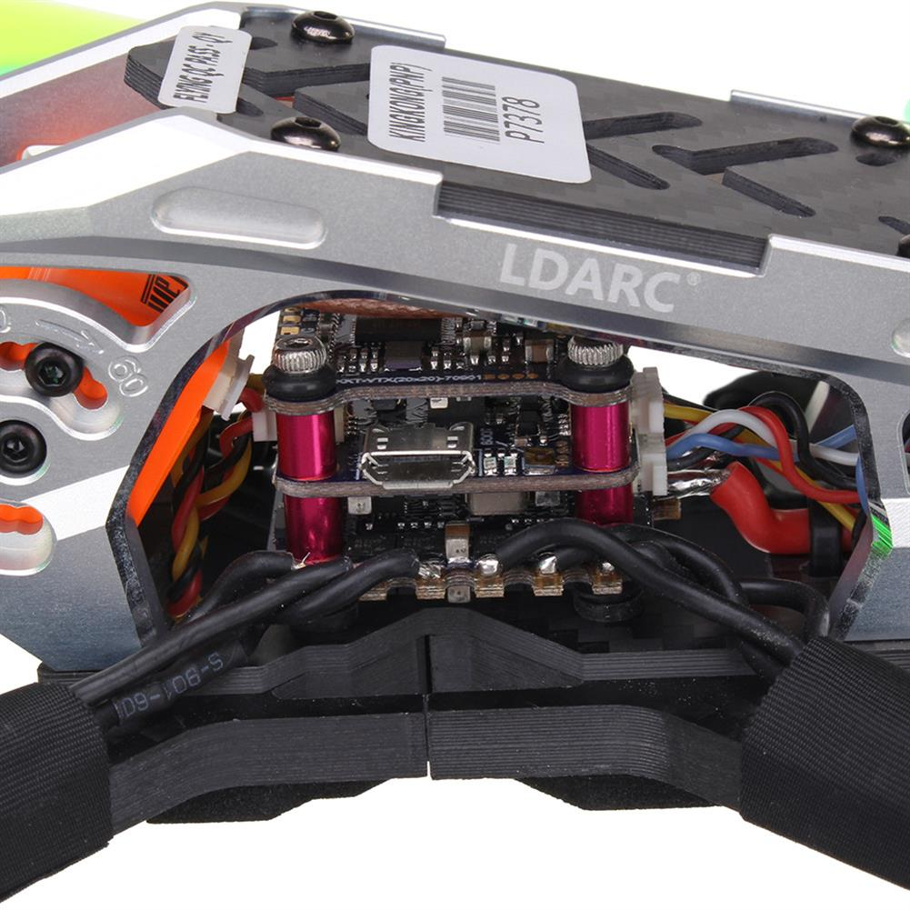 fpv-racing-drones LDARC Kingkong KK 220 F4 OSD 20A BL_S FPV Racing Drone w/ 25/100/200mW VTX Runcam Swift Mini PNP RC1327574 3