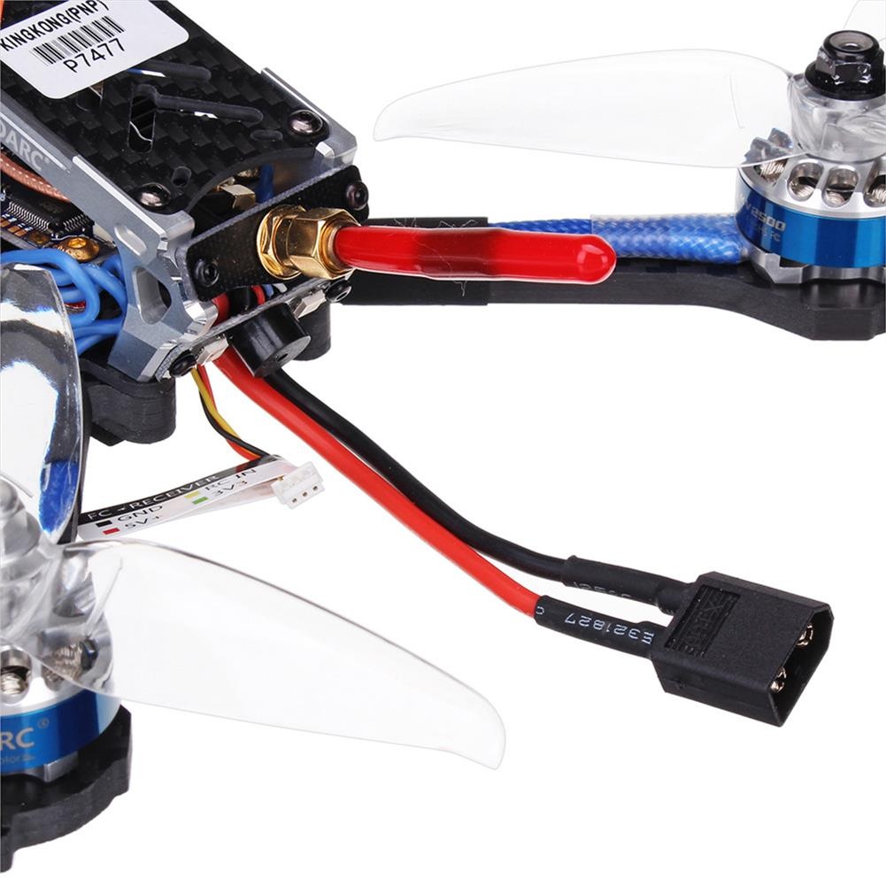 fpv-racing-drones LDARC Kingkong KK 5GT 213mm F4 OSD FPV Racing Drone w/ BL_S 48CH 25/200/600mW VTX Runcam Swift Mini RC1327581 5