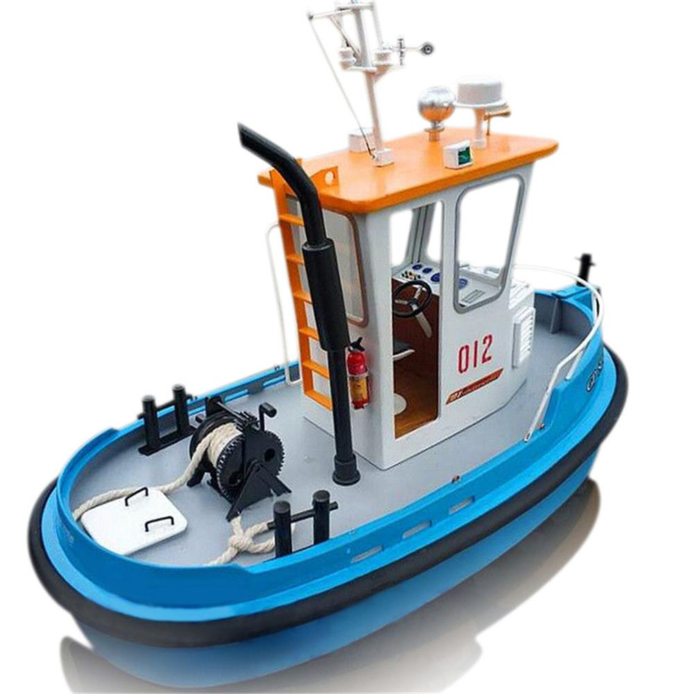 rc-boat 1:18 Pine Mini 270*130*190m RC Tugboat Rescue Simulation ABS Wooden Boat Model Ship DIY Tools Kit Q1 RC1328825
