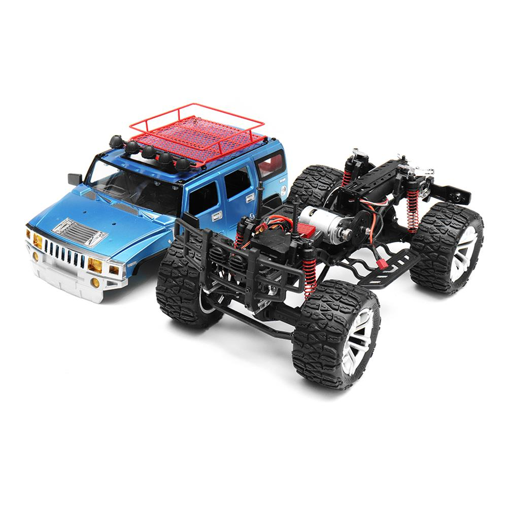rc-cars HG P403 1/10 2.4G 4WD 49cm Rc Car 540 Brushed 20m/h Rock Crawler Off-road Truck RTR Toy RC1332929 4