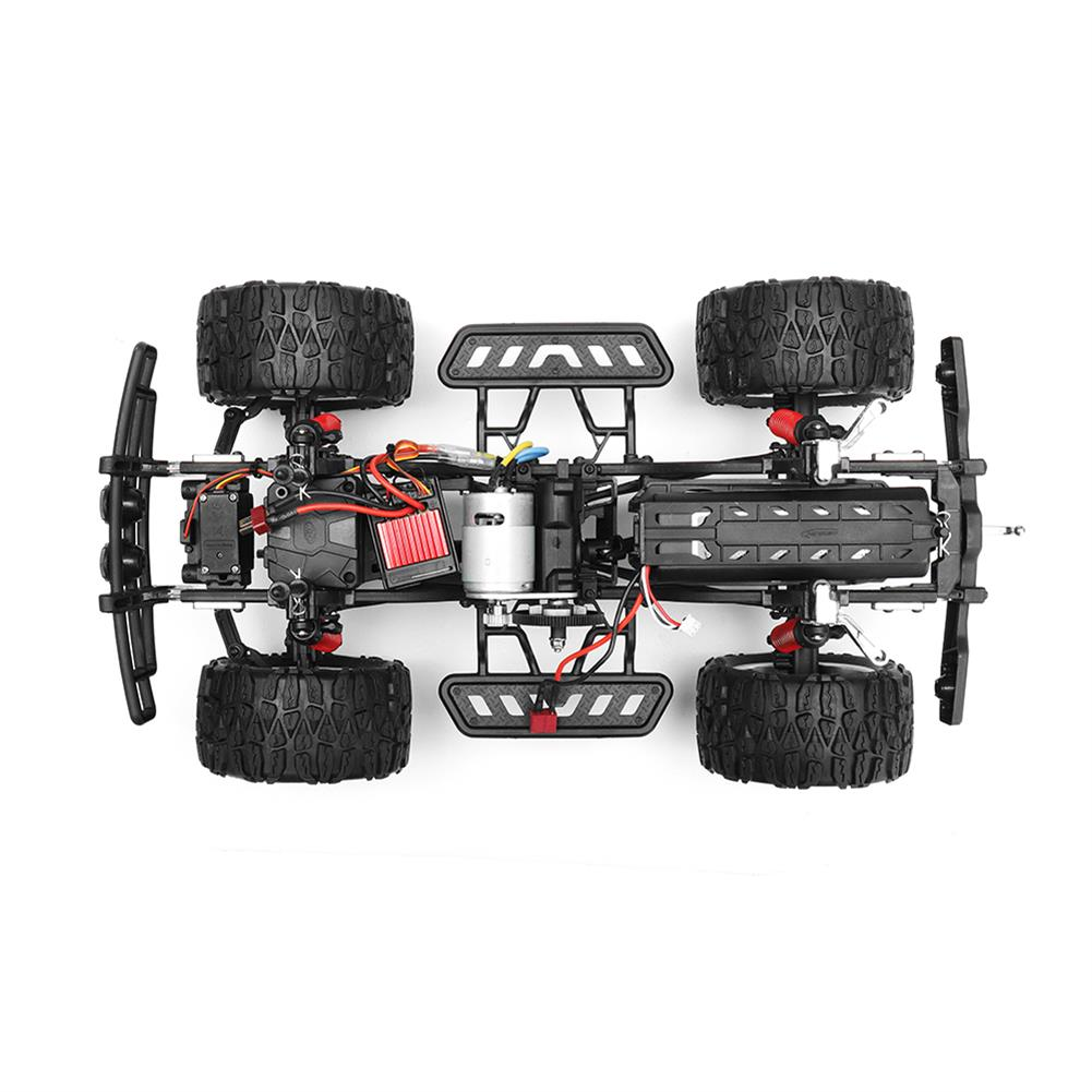 rc-cars HG P403 1/10 2.4G 4WD 49cm Rc Car 540 Brushed 20m/h Rock Crawler Off-road Truck RTR Toy RC1332929 5