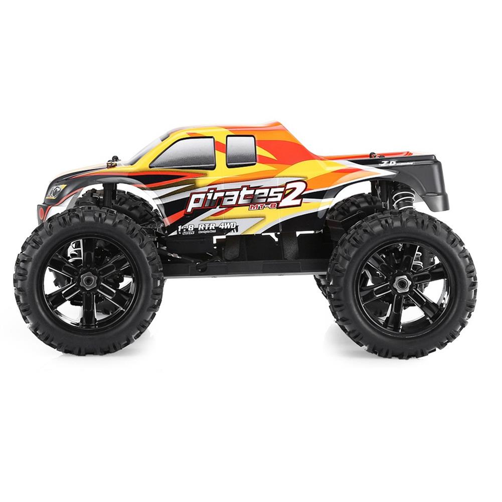 rc-cars ZD Racing 9116 1/8 2.4G 4WD 80A 3670 Brushless Rc Car Monster Off-road Truck RTR Toy RC1333357 4