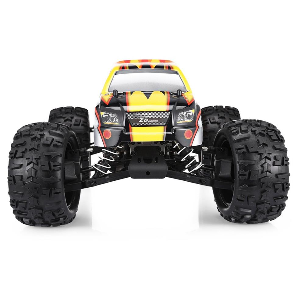 rc-cars ZD Racing 9116 1/8 2.4G 4WD 80A 3670 Brushless Rc Car Monster Off-road Truck RTR Toy RC1333357 5