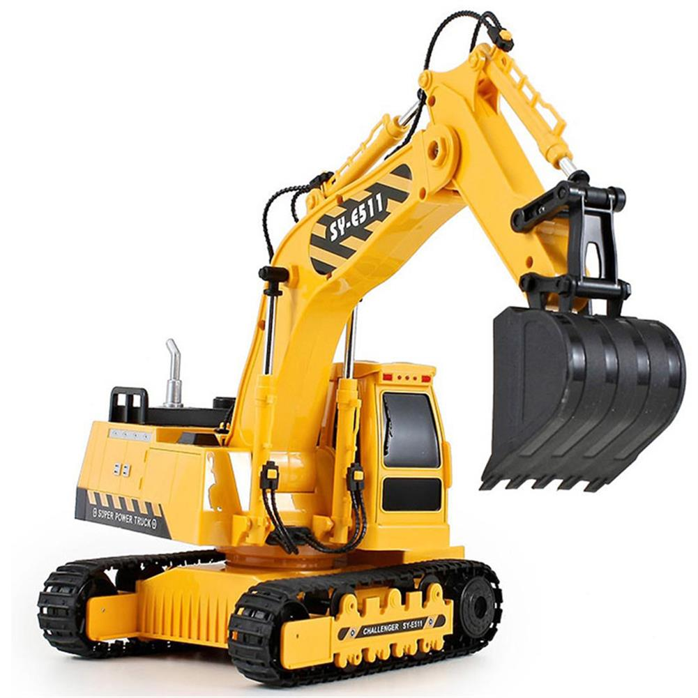 rc-cars Double Eagle E511-003 1/20 2.4G 8CH Rc Car Excavator Engineering Truck W/ Light Sound Toys RC1334690