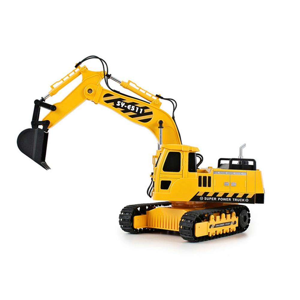 rc-cars Double Eagle E511-003 1/20 2.4G 8CH Rc Car Excavator Engineering Truck W/ Light Sound Toys RC1334690 2