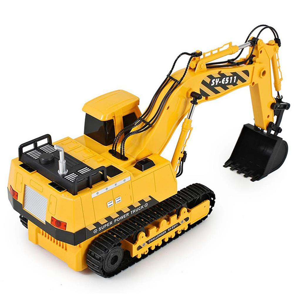 rc-cars Double Eagle E511-003 1/20 2.4G 8CH Rc Car Excavator Engineering Truck W/ Light Sound Toys RC1334690 3