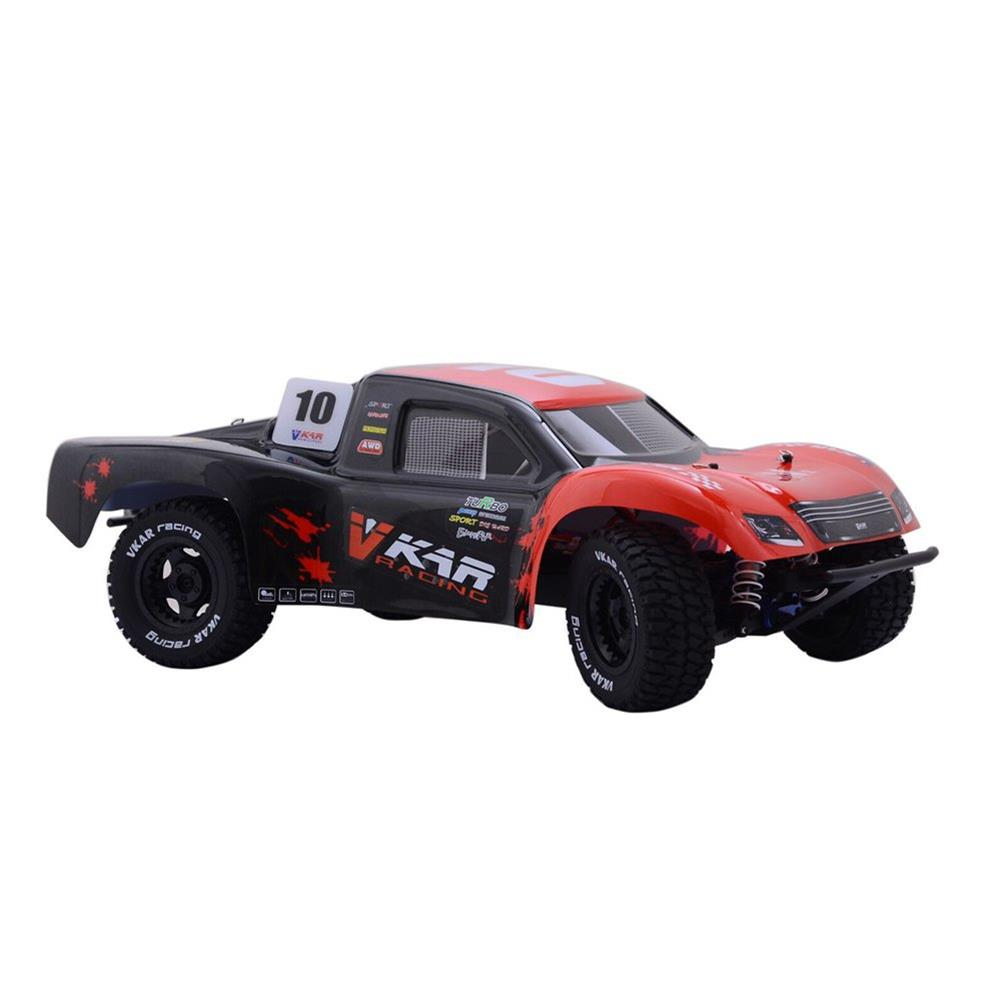 rc-cars Vkar 61101 SCT X 10 V2 1/10 2.4G 4WD 545*300*178mm Brushless Rc Car 80km/h Short Course Truck RTR RC1335461 1