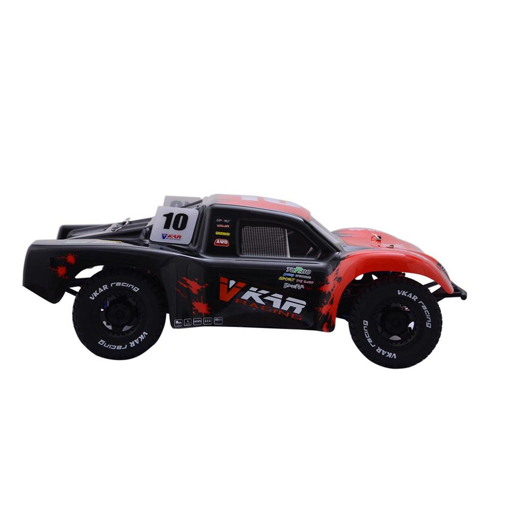 rc-cars Vkar 61101 SCT X 10 V2 1/10 2.4G 4WD 545*300*178mm Brushless Rc Car 80km/h Short Course Truck RTR RC1335461 2