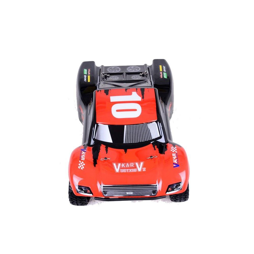 rc-cars Vkar 61101 SCT X 10 V2 1/10 2.4G 4WD 545*300*178mm Brushless Rc Car 80km/h Short Course Truck RTR RC1335461 3