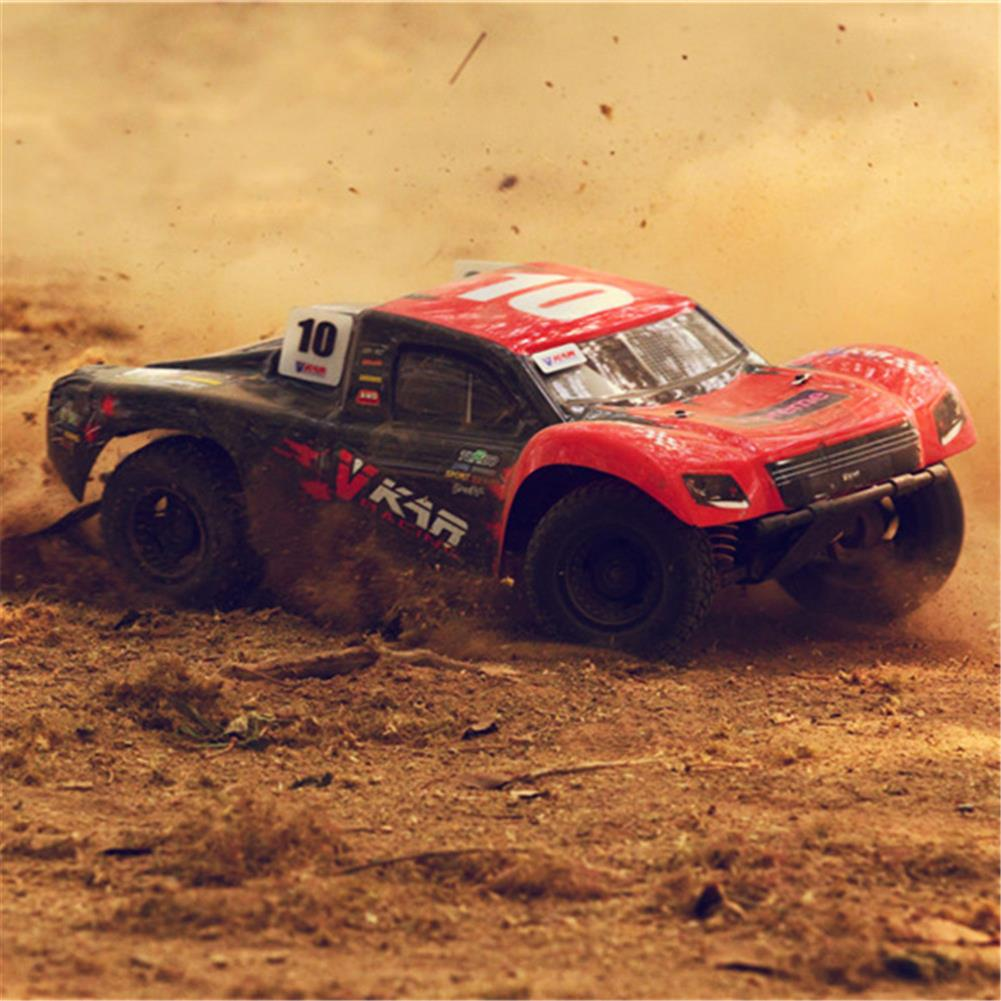 rc-cars Vkar 61101 SCT X 10 V2 1/10 2.4G 4WD 545*300*178mm Brushless Rc Car 80km/h Short Course Truck RTR RC1335461 5