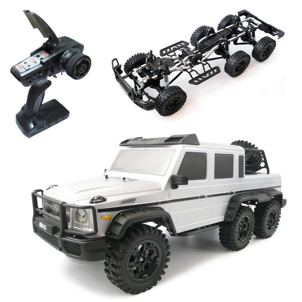 rc-cars HG P601 1/10 2.4G 6WD Rc Car Rock Crawler RTR 20km/h Metal Chassis RTR Toy RC1337312