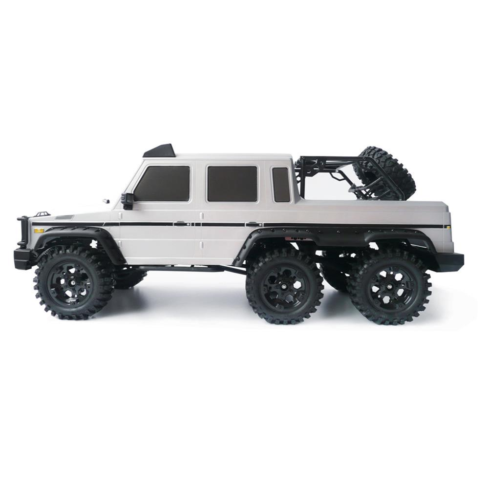 rc-cars HG P601 1/10 2.4G 6WD Rc Car Rock Crawler RTR 20km/h Metal Chassis RTR Toy RC1337312 2