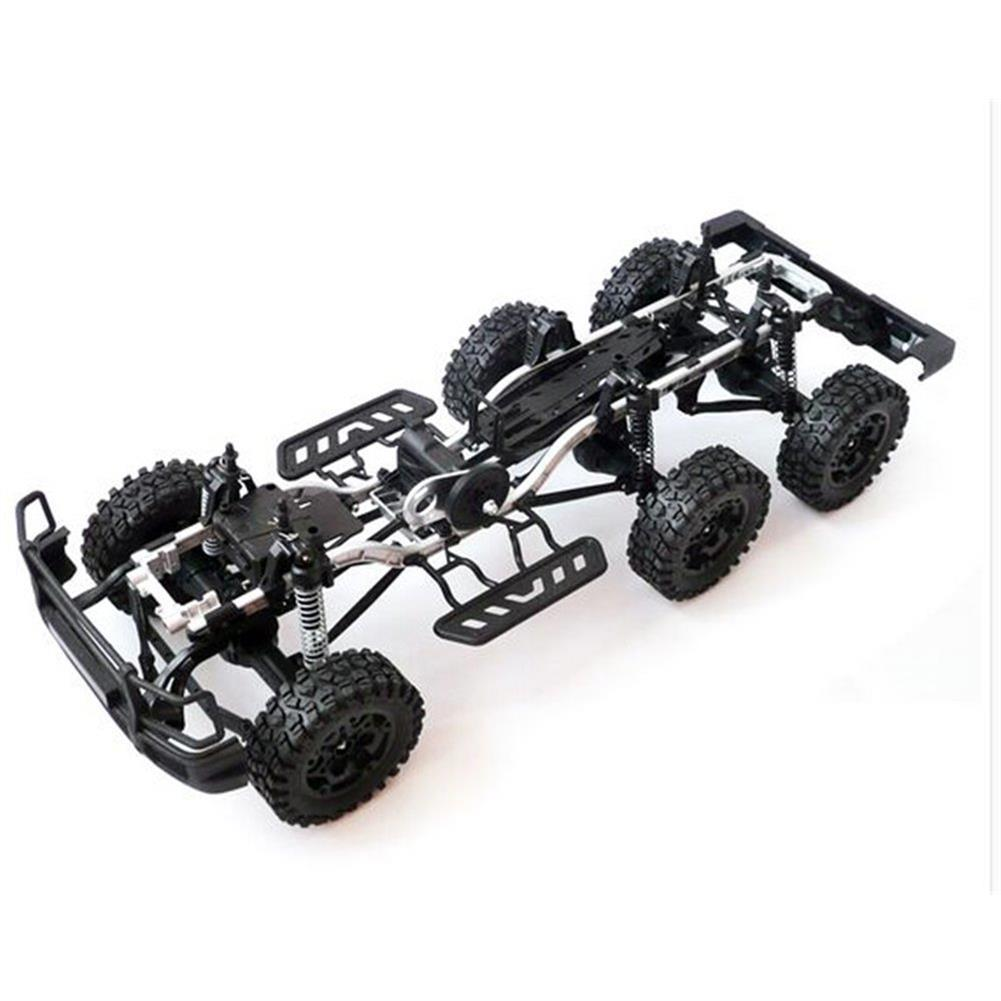 rc-cars HG P601 1/10 2.4G 6WD Rc Car Rock Crawler RTR 20km/h Metal Chassis RTR Toy RC1337312 4