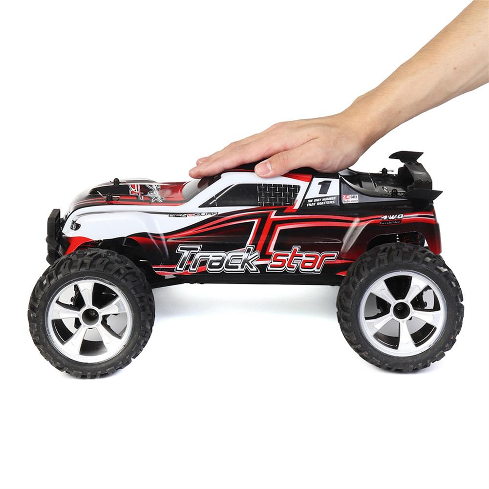 rc-cars HG P104 1/10 2.4G 4WD 25km/h Rc Car Knight 550 Brushed Big Foot Off-road Truck RTR Toy RC1337415 3