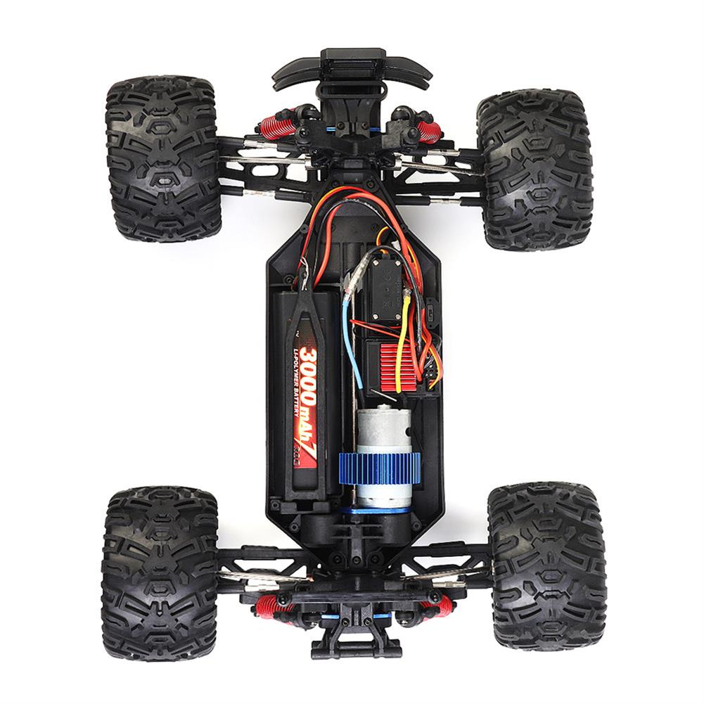 rc-cars HG P104 1/10 2.4G 4WD 25km/h Rc Car Knight 550 Brushed Big Foot Off-road Truck RTR Toy RC1337415 4