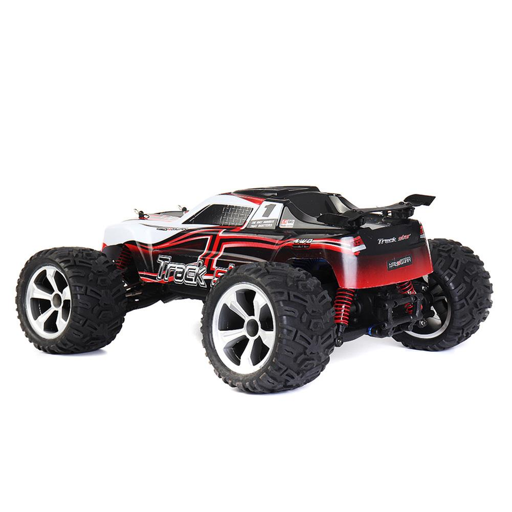 rc-cars HG P104 1/10 2.4G 4WD 25km/h Rc Car Knight 550 Brushed Big Foot Off-road Truck RTR Toy RC1337415 5