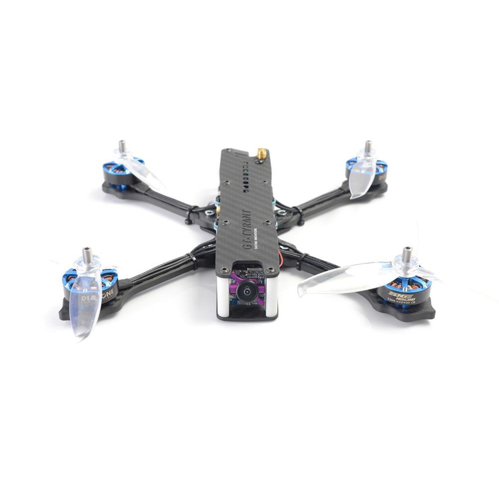 fpv-racing-drones Diatone 2018 GT-Tyrants 530 4S FPV Racing Drone PNP F4 8K OSD TBS 800mW VTX 50A 3-6S ESC RC1337648 2