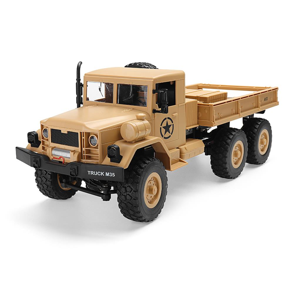 rc-cars MZ YY2003 2.4G 6WD 1/12 Military Truck Off Road RC Car Crawler Toys RC1341761