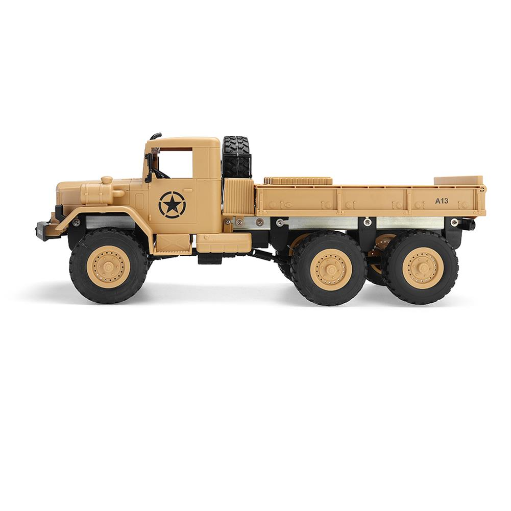 rc-cars MZ YY2003 2.4G 6WD 1/12 Military Truck Off Road RC Car Crawler Toys RC1341761 2