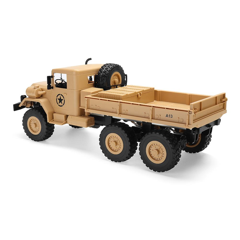rc-cars MZ YY2003 2.4G 6WD 1/12 Military Truck Off Road RC Car Crawler Toys RC1341761 3