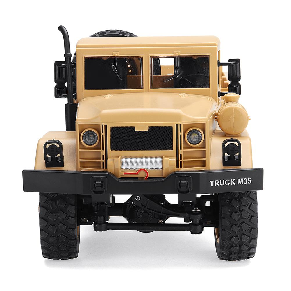 rc-cars MZ YY2003 2.4G 6WD 1/12 Military Truck Off Road RC Car Crawler Toys RC1341761 4