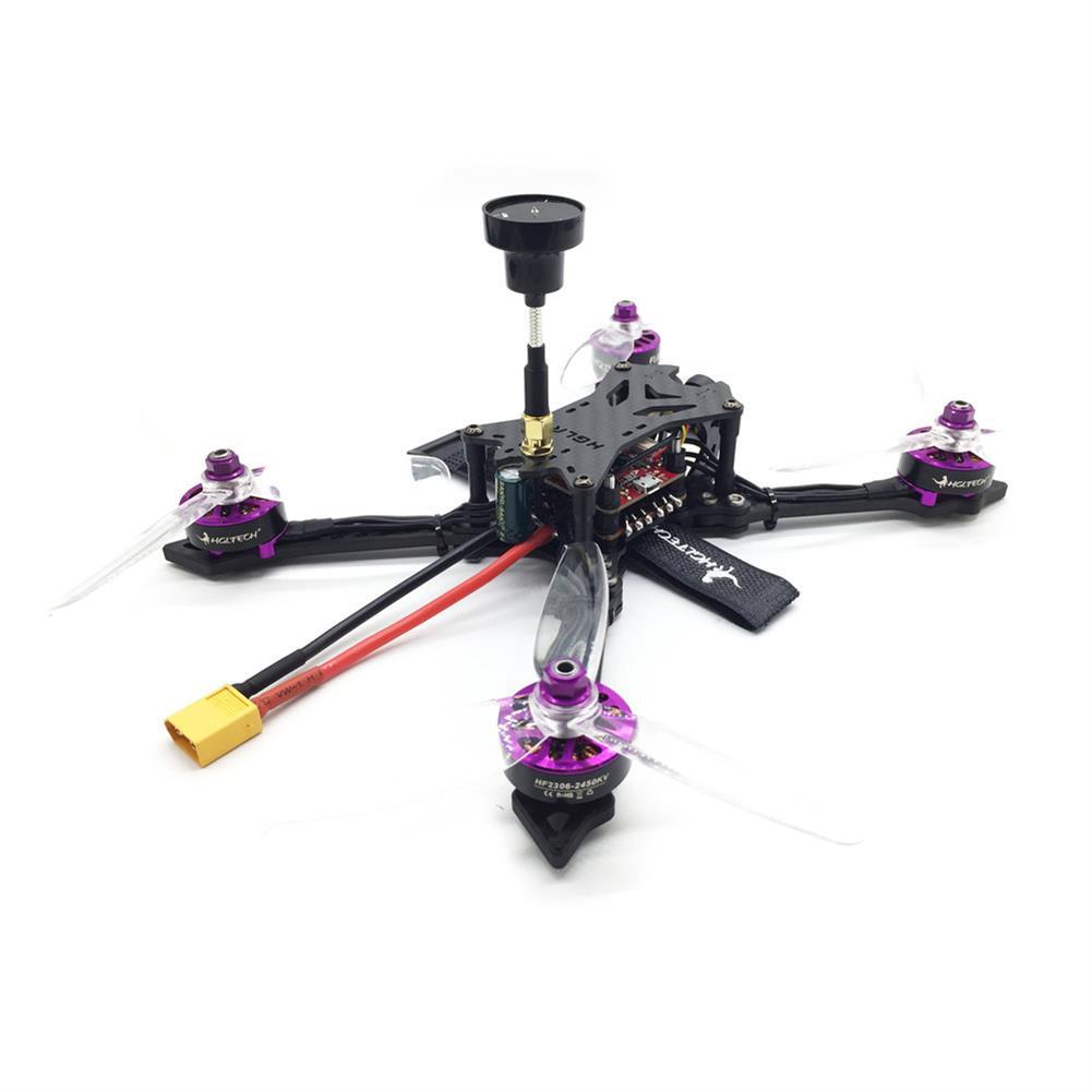 fpv-racing-drones HGLRC Batman220 220mm Airbus F4 OSD FPV Racing Drone w/ 60A BL_32 ESC Frsky XM+ RX BNF RC1349907 2