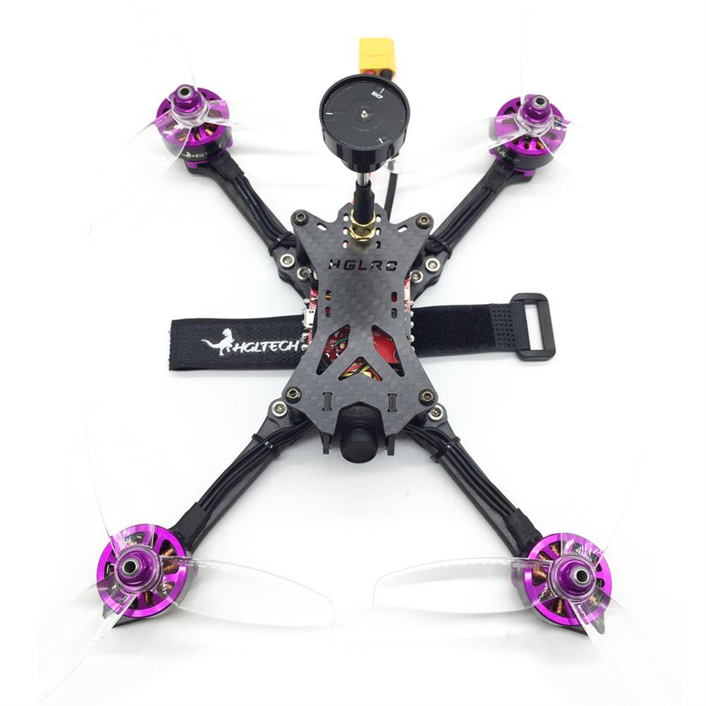 fpv-racing-drones HGLRC Batman220 220mm Airbus F4 OSD FPV Racing Drone w/ 60A BL_32 ESC Frsky XM+ RX BNF RC1349907 3