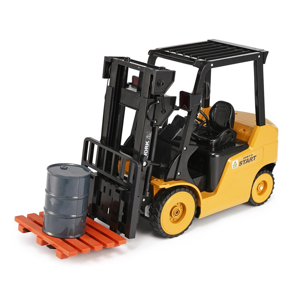 rc-cars Ao Hai 3828 1/8 11CH Rc Car Forklift Truck With Light Music Demonstration Toy RC1351718