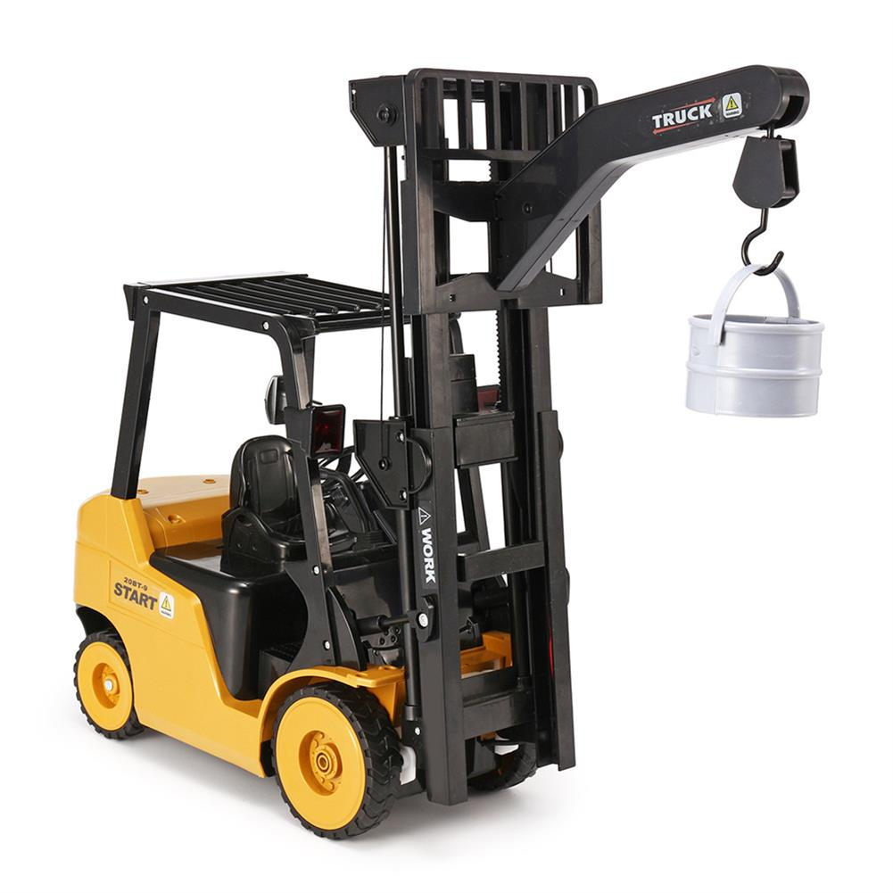 rc-cars Ao Hai 3828 1/8 11CH Rc Car Forklift Truck With Light Music Demonstration Toy RC1351718 2