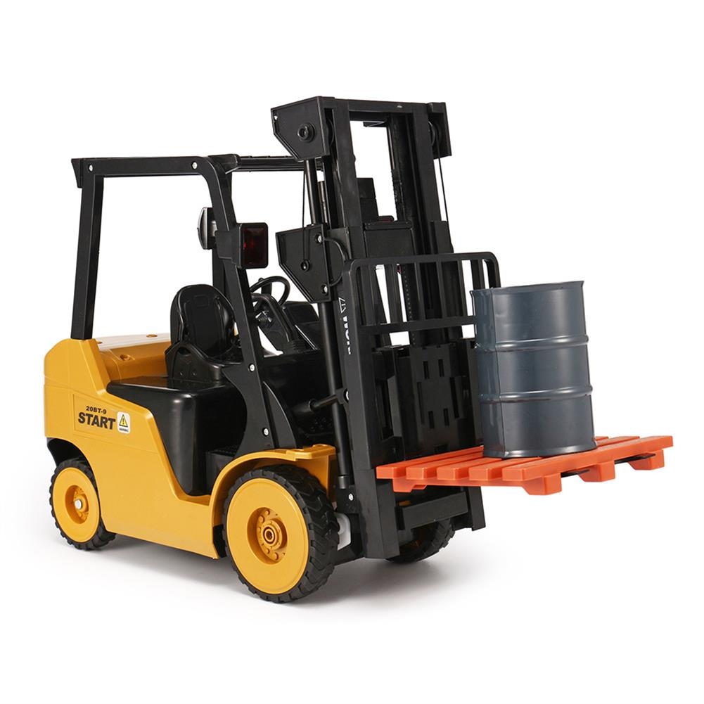 rc-cars Ao Hai 3828 1/8 11CH Rc Car Forklift Truck With Light Music Demonstration Toy RC1351718 3