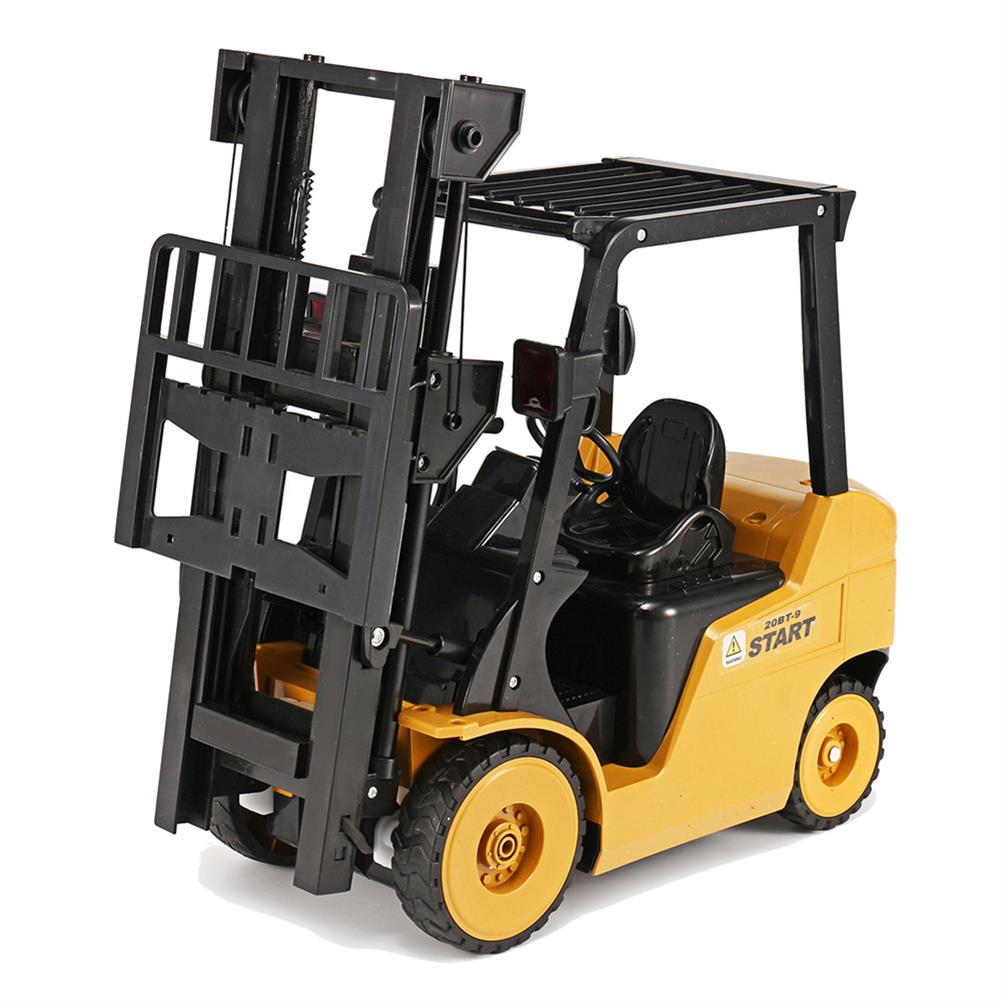 rc-cars Ao Hai 3828 1/8 11CH Rc Car Forklift Truck With Light Music Demonstration Toy RC1351718 4