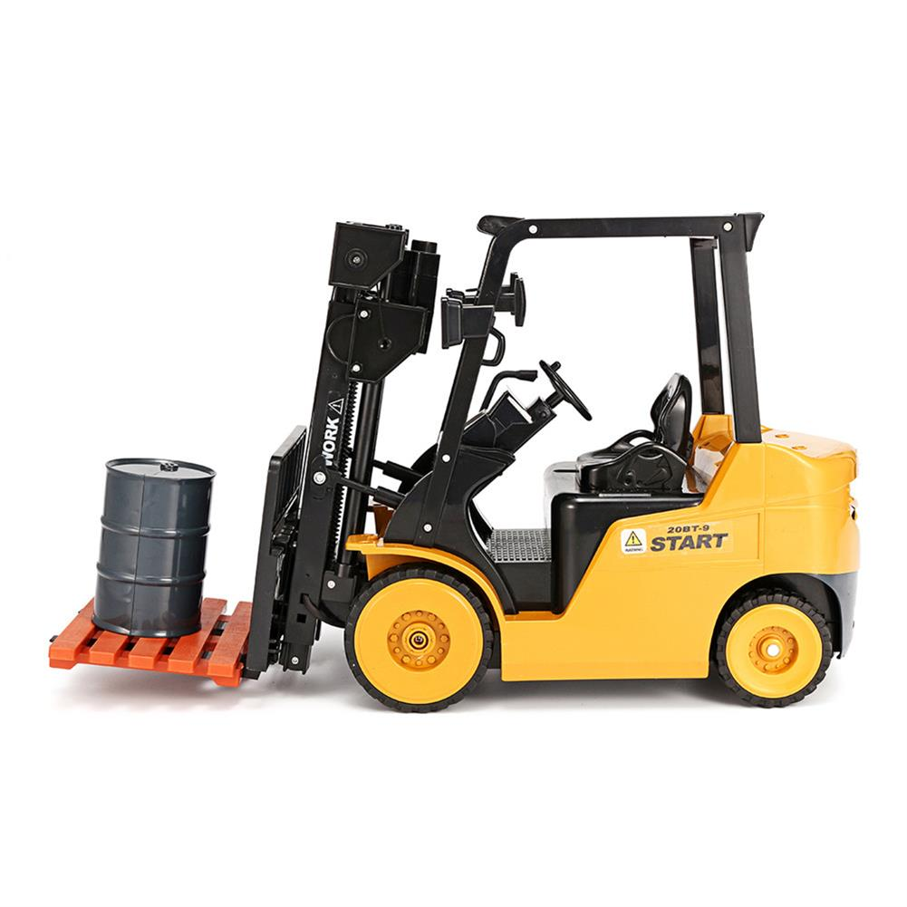 rc-cars Ao Hai 3828 1/8 11CH Rc Car Forklift Truck With Light Music Demonstration Toy RC1351718 5