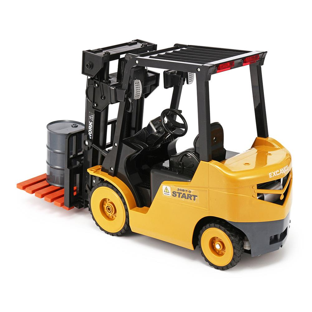 rc-cars Ao Hai 3828 1/8 11CH Rc Car Forklift Truck With Light Music Demonstration Toy RC1351718 6