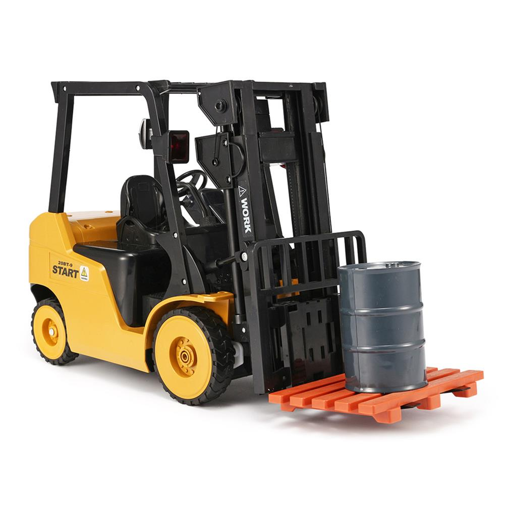 rc-cars Ao Hai 3828 1/8 11CH Rc Car Forklift Truck With Light Music Demonstration Toy RC1351718 7