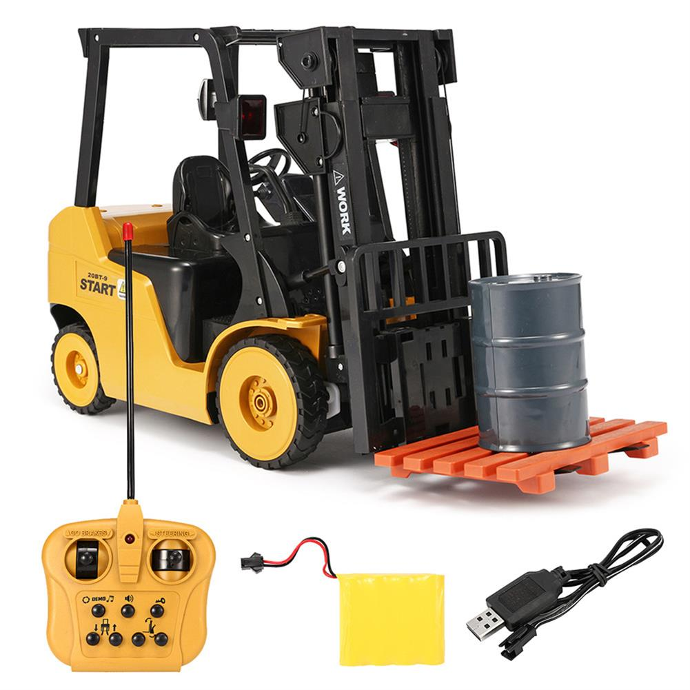 rc-cars Ao Hai 3828 1/8 11CH Rc Car Forklift Truck With Light Music Demonstration Toy RC1351718 9