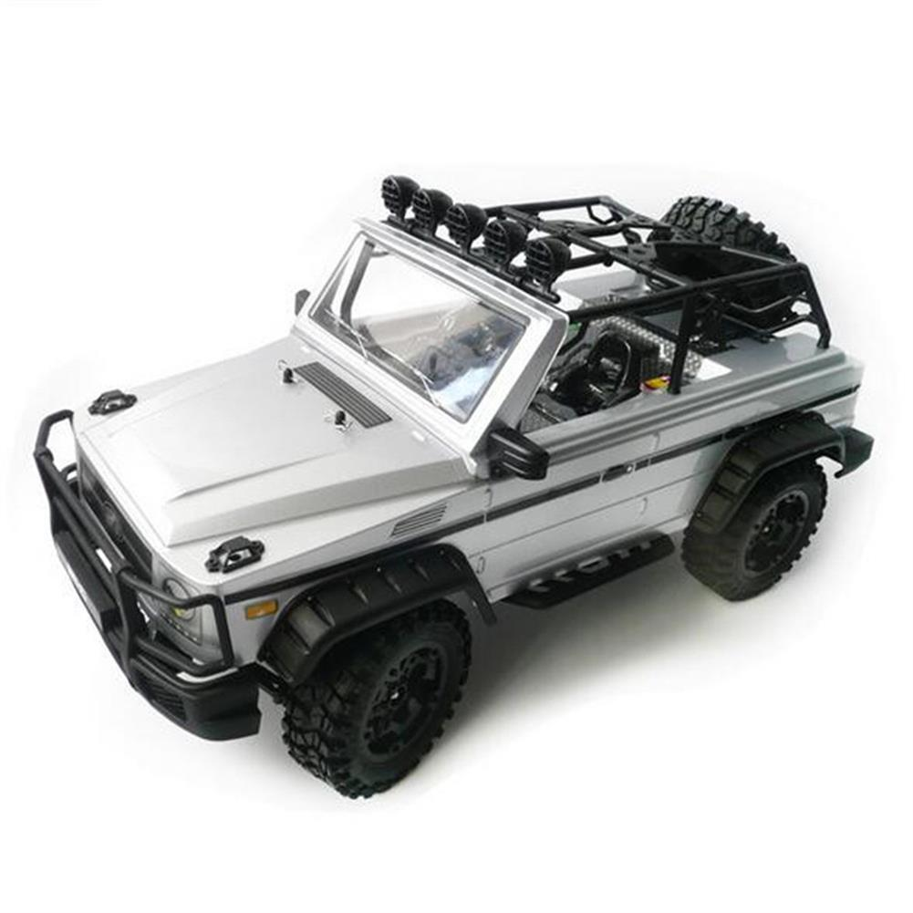 rc-cars HG P402 1/10 2.4G 4WD Rc Car 540 Brushed Rock Crawler Metal 4X4 Pickup Truck RTR Toy RC1352044