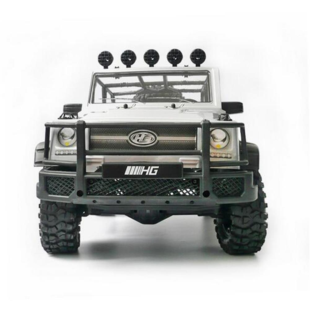 rc-cars HG P402 1/10 2.4G 4WD Rc Car 540 Brushed Rock Crawler Metal 4X4 Pickup Truck RTR Toy RC1352044 2