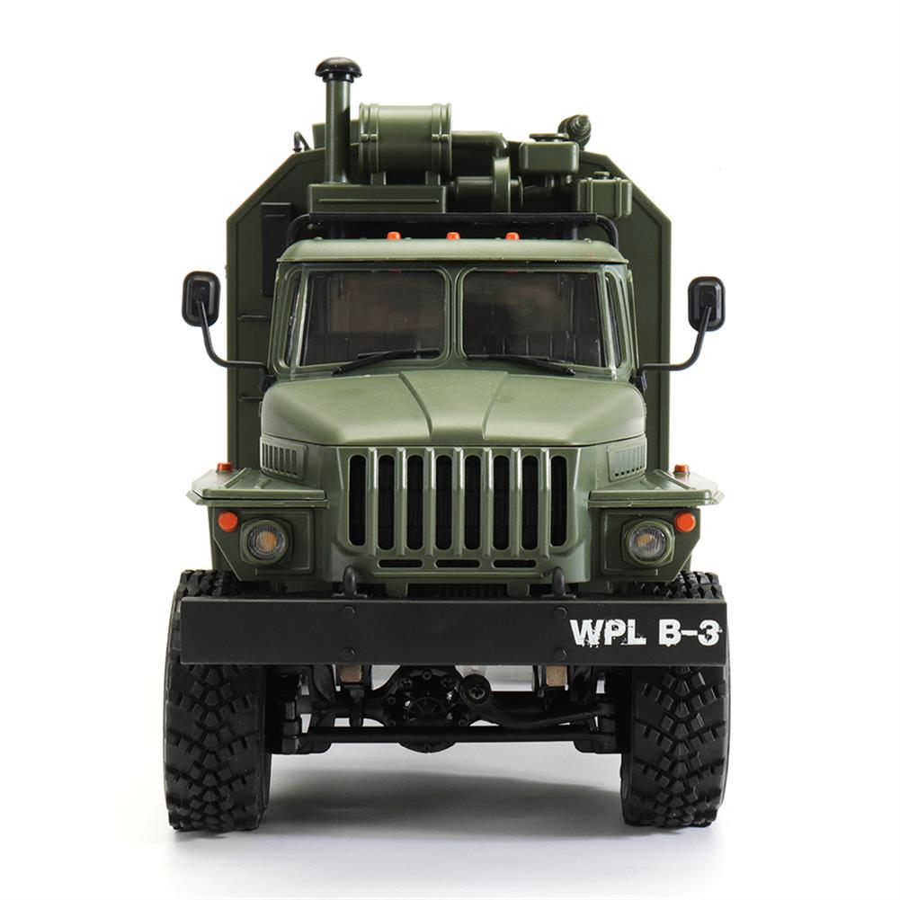 rc-cars WPL B36 Ural 1/16 2.4G 6WD Rc Car Military Truck Rock Crawler Command Communication Vehicle RTR Toy RC1353390 2