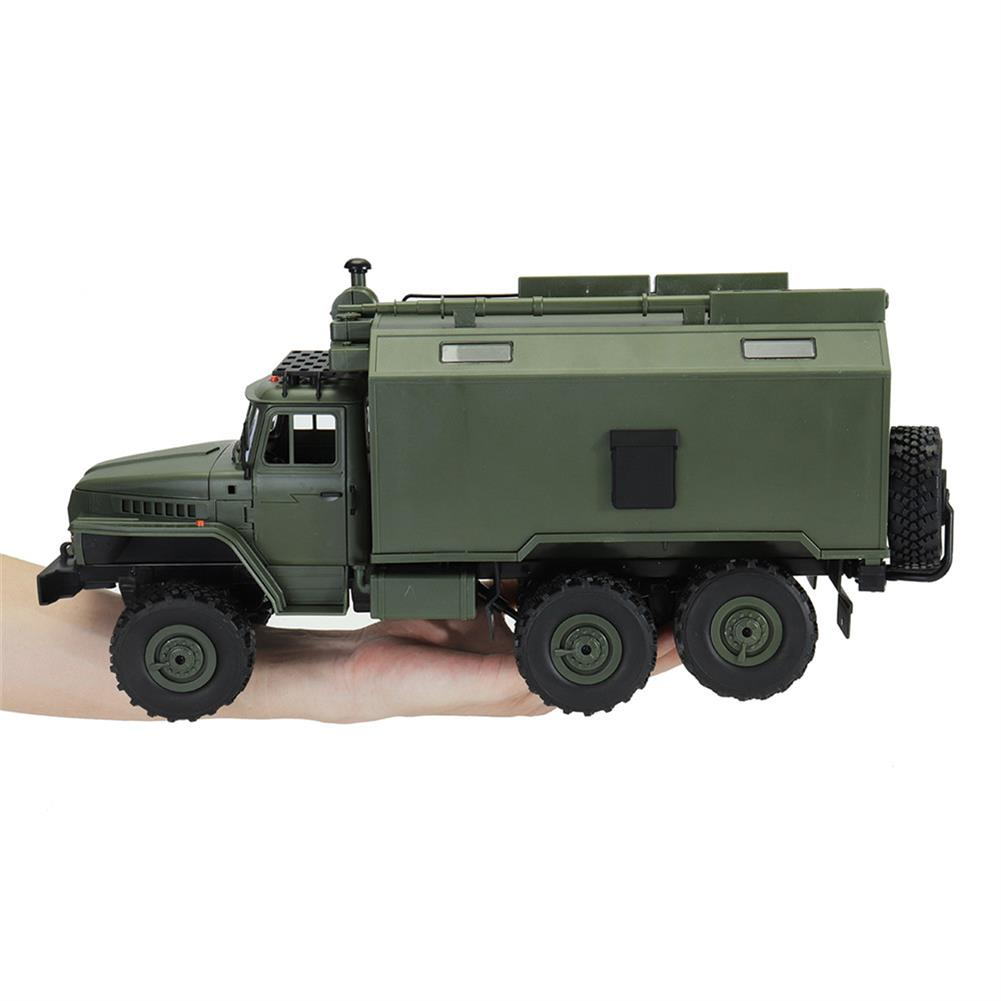 rc-cars WPL B36 Ural 1/16 2.4G 6WD Rc Car Military Truck Rock Crawler Command Communication Vehicle RTR Toy RC1353390 4