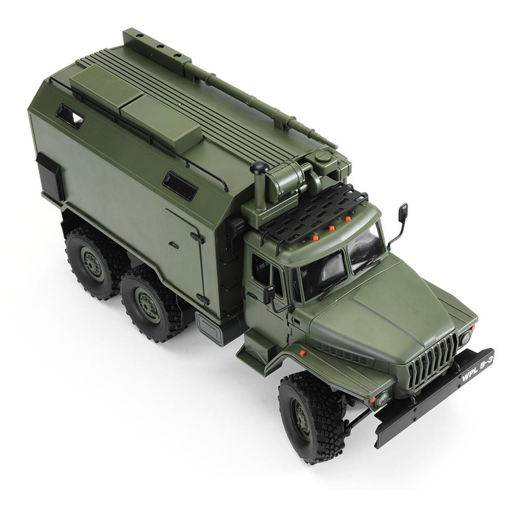 rc-cars WPL B36 Ural 1/16 2.4G 6WD Rc Car Military Truck Rock Crawler Command Communication Vehicle RTR Toy RC1353390 5